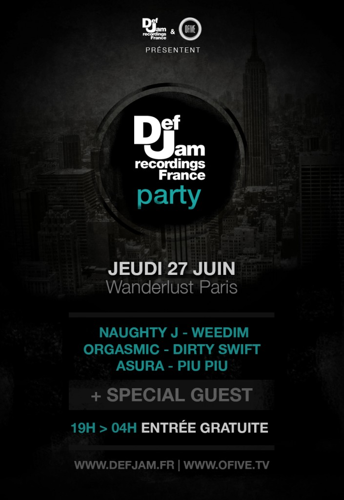 dej jam party - wanderlust