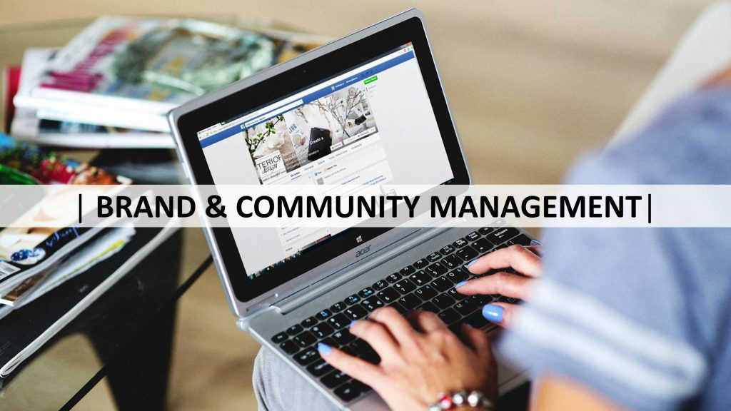 BRAND & COMMUNITY MANAGEMENT